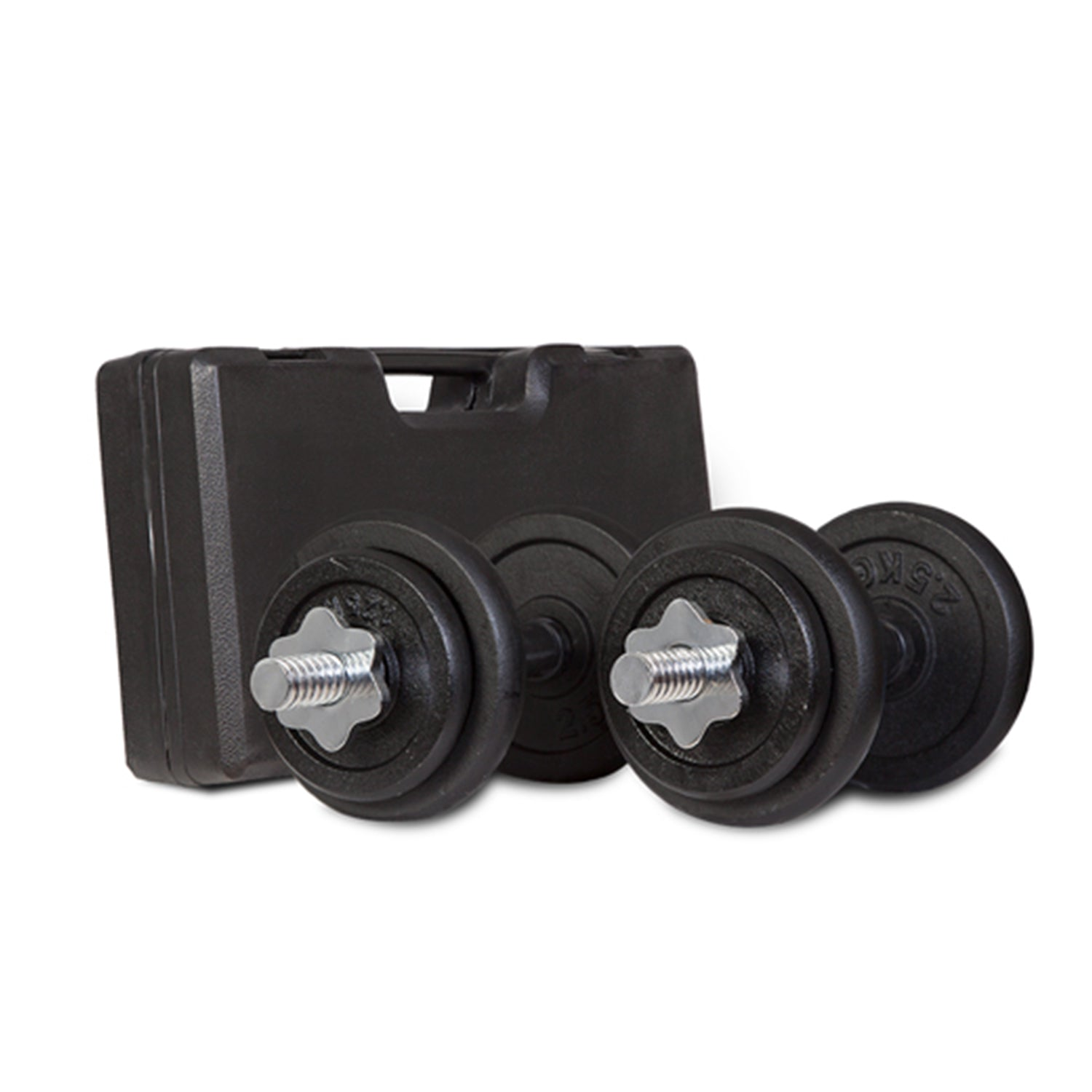 20KG Dumbbell Set in case