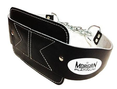 MORGAN 'PLATINUM' LEATHER DIPPING WEIGHT BELT