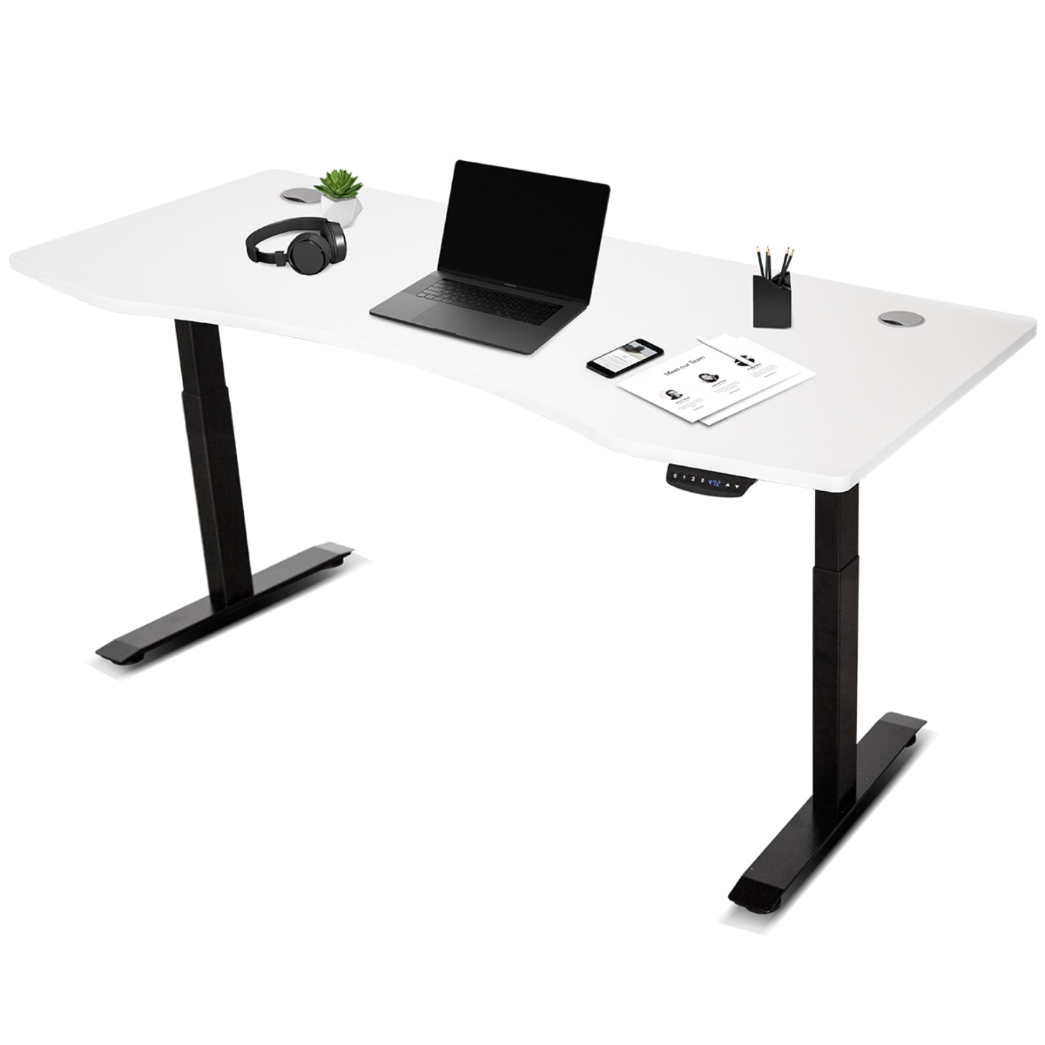 Lifespan Fitness ErgoDesk AUTO Series Automatic Standing Desk (180cm)