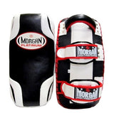 MORGAN PLATINUM LEATHER GEL THAI PADS (PAIR)