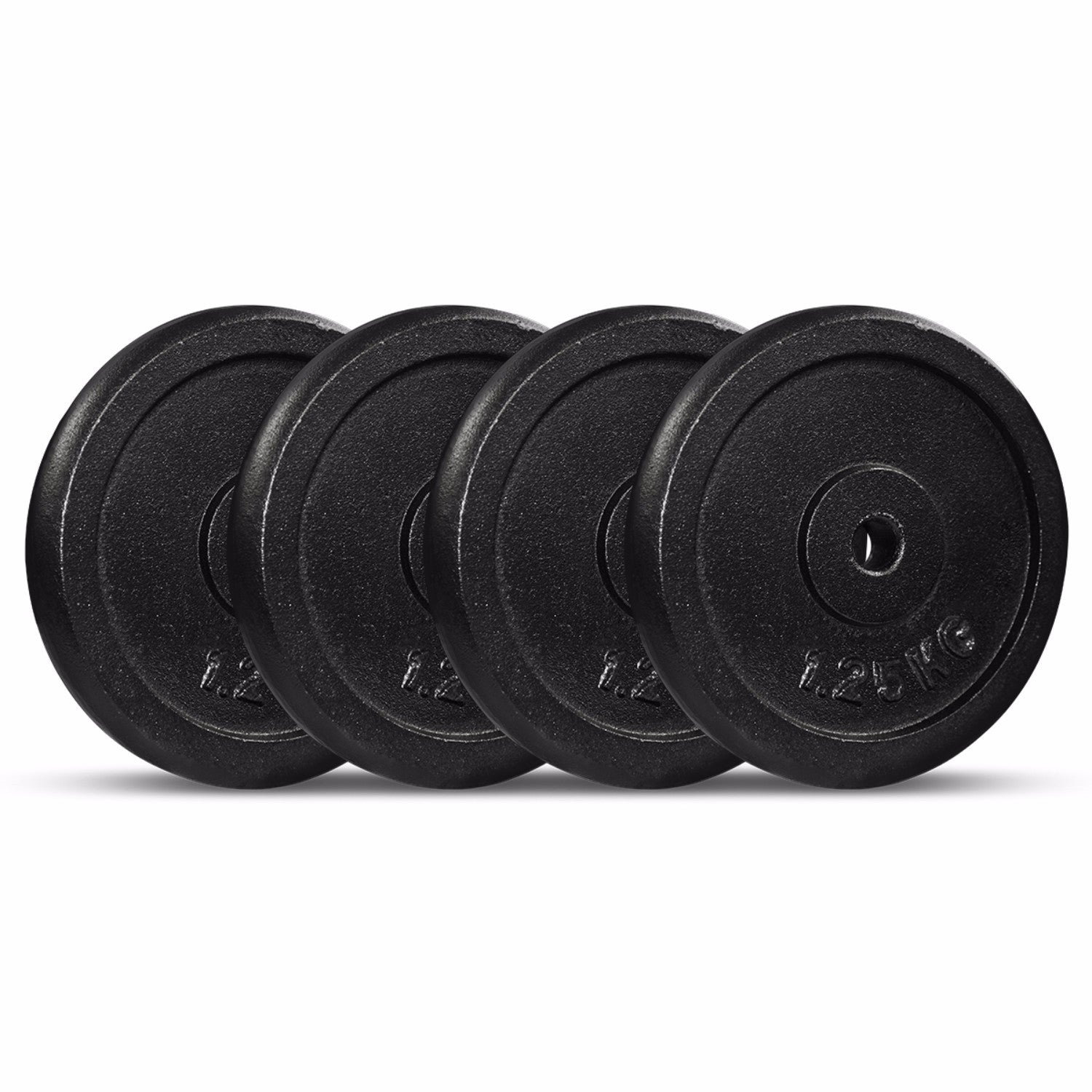 Cast Iron Weight Plate 1.25kg (Pack of 4)