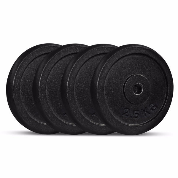 Cast Iron Weight Plate 2.5kg (Pack of 4)