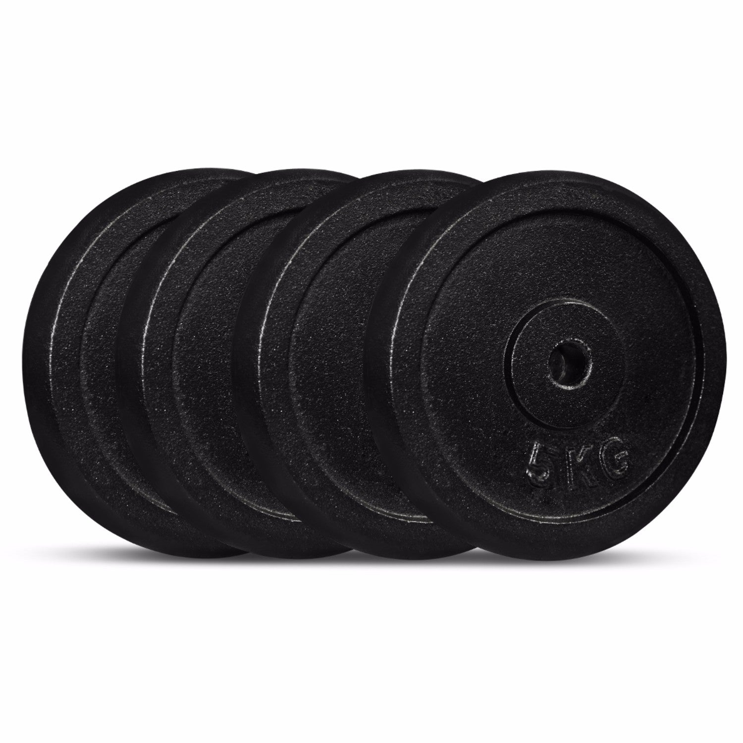 Cast Iron Weight Plate 5kg (Pack of 4)