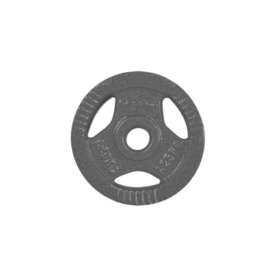 Cast Iron Tri-Grip Weight Plate 1.25kg Pair