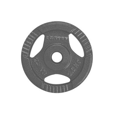 Cast Iron Tri-Grip Weight Plate 2.5kg Pair