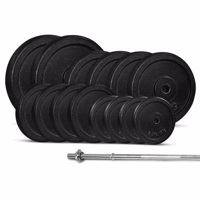 60KG Standard Barbell Weight Set