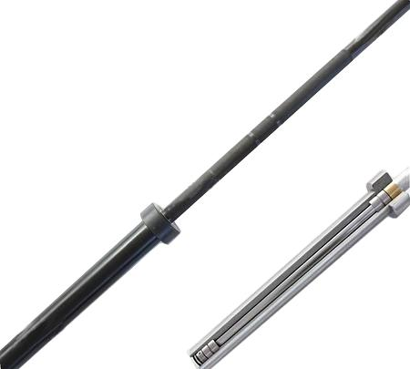 20kg Morgan Black Zinc Olympic Barbell - 680kg Max capacity
