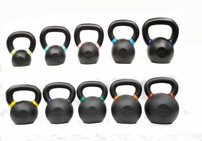 MORGAN V2 POWDER COATED KETTLEBELLS (4-6-8-10-12-16-20-24-28-32KG)