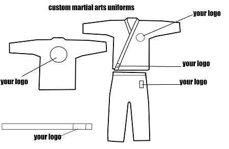 Custom 10oz Karate Uniforms
