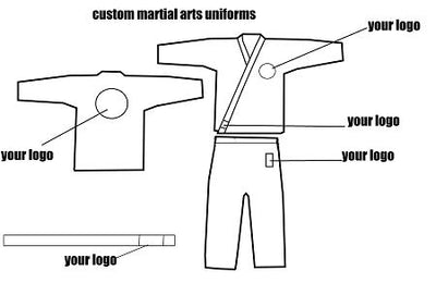 Custom 8oz Karate Uniforms