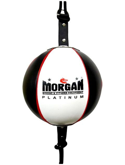 Morgan 8inch Platinum Leather Floor T0 Ceiling + Adjustable Straps