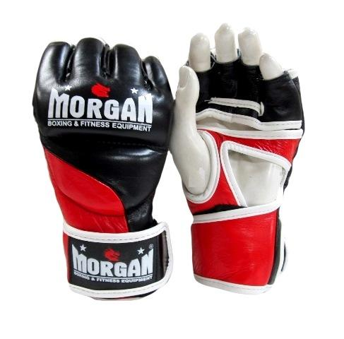 MORGAN V2 PLATINUM LEATHER MMA GLOVES