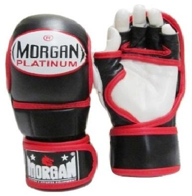MORGAN V2 PLATINUM SHUTO MMA LEATHER SPARRING GLOVES