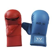 WKF APPROVED KARATE MITTS WITH THUMB PROTECTION