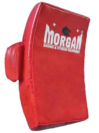 MORGAN DLX CURVED 'HIGH IMPACT' HIT SHIELD WITH HAND PROTECTION