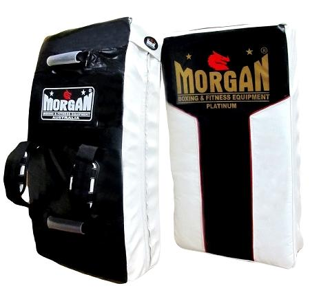 MORGAN PLATINUM EXTRA HEAVY DUTY CURVED HIT & STRIKE SHIELD WITH ADJUSTABLE REAR PADDED STRAPS