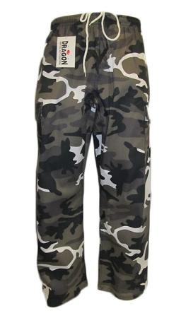 GREY CAMO TRAINING PANTS