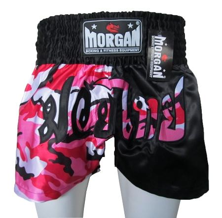 MORGAN 50/50 DIABLA MUAY THAI SHORTS - PINK