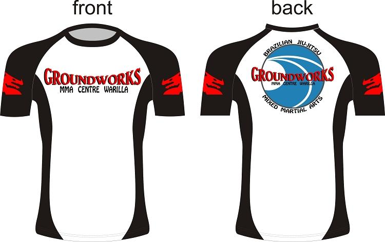 Custom Grappling Rash Guards