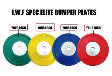 15KG Pairs of Morgan Elite Bumper Plate