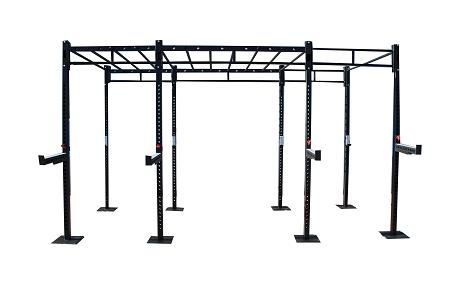 3-Cell Morgan Cross Functional Fitness Freestanding Super Rig