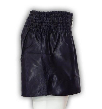 MORGAN MUAY THAI SHORTS - BLACK