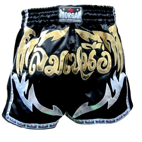 MORGAN ELITE RETRO MUAY THAI SHORTS