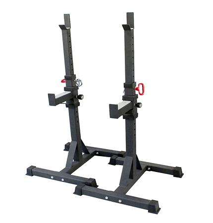 Adjustable Commercial 2 - Pcs Squat & Bench Stand