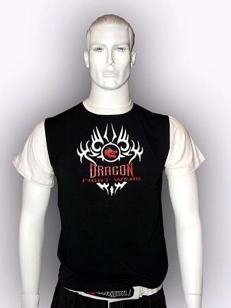 Dragon T- Shirt  -  BLACK