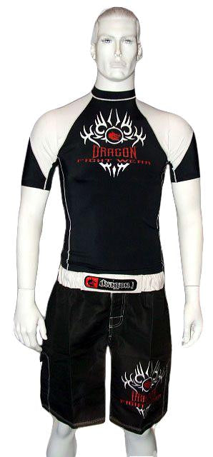 Dragon Rash Guard - Short Sleeve