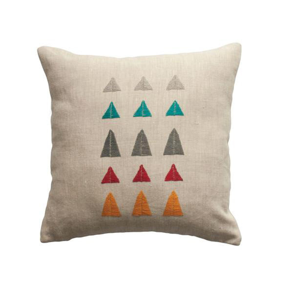 Arizona Mountain Pillow by Leah Singh