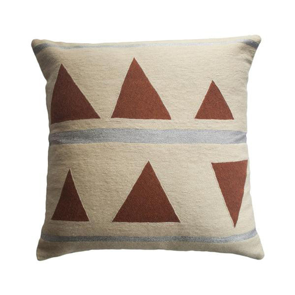 Anaya Stream Pillow by Leah Singh