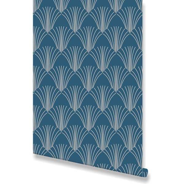 Art Deco Wallpaper by Clairebella Studio