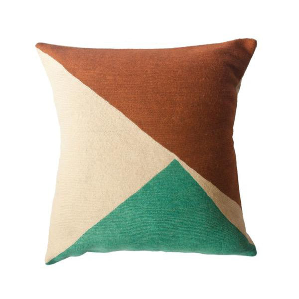 Bar Colorado Pillow by Leah Singh