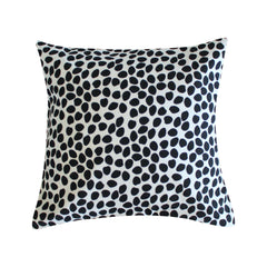 Dottie Black Pillow by Clairebella Studio - Pillow - Clairebella Studio - Salut Home