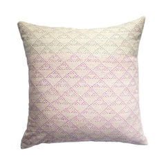 Eva Ivory and Pink Pillow by Leah Singh - Pillow - Leah Singh - Salut Home