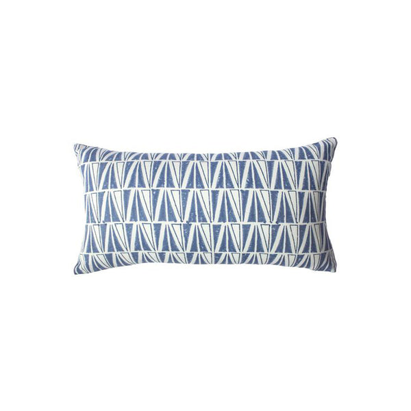 Indigo Deep Pillow by Leah Singh