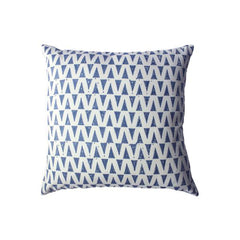 Indigo Drops Pillow by Leah Singh - Pillow - Leah Singh - Salut Home