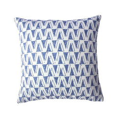 Indigo Shadow Pillow by Leah Singh - Pillow - Leah Singh - Salut Home
