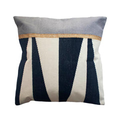 Jordan Black & White Pillow by Leah Singh - Pillow - Leah Singh - Salut Home