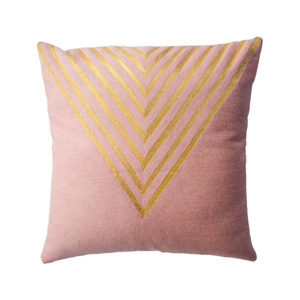 Katherine Triangle Pillow by Leah Singh