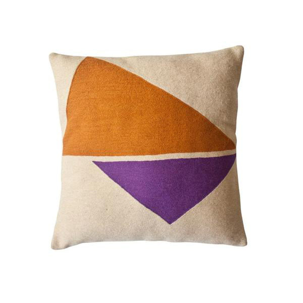 Lucent Reflection Pillow by Leah Singh