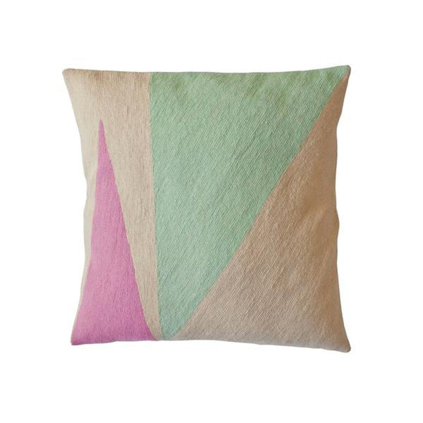 Lucent Shimmer Pillow by Leah Singh