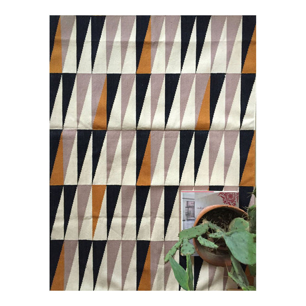 Gramercy Triangle Rug by Leah Singh
