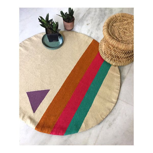 Technicolor Rug by Leah Singh