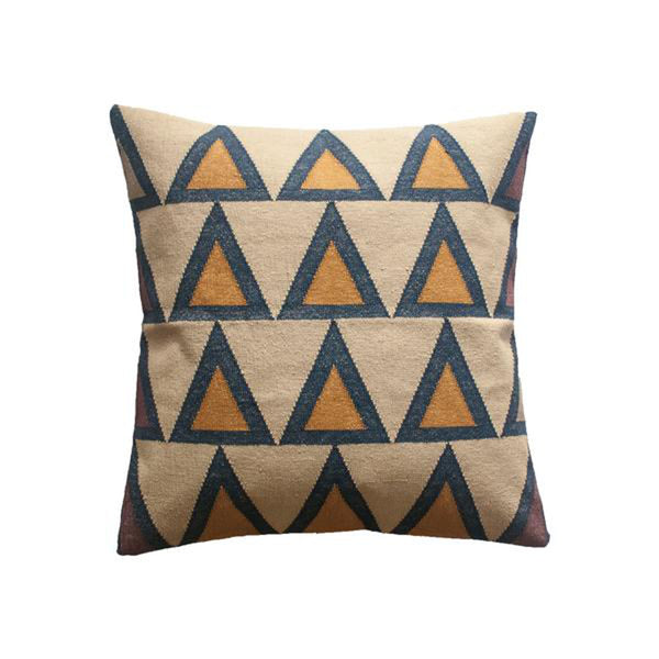 Maya Cream Pillow by Leah Singh
