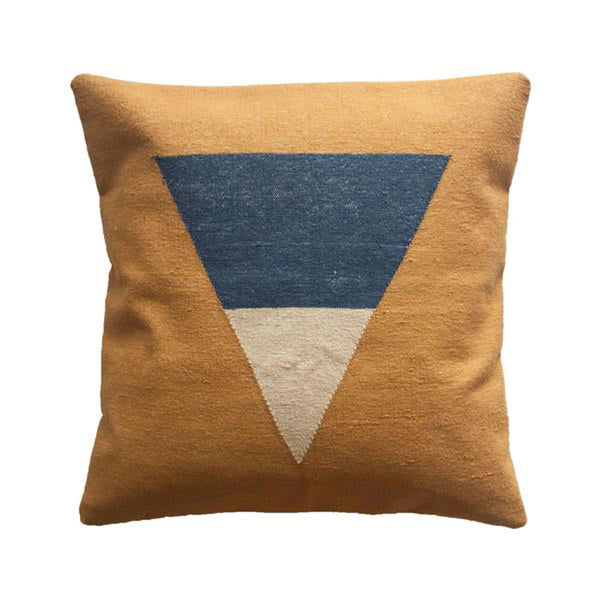 Maya Down Pillow by Leah Singh