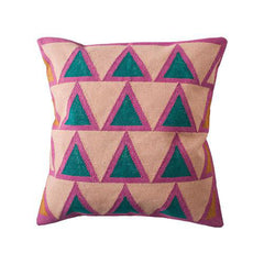 Maya Light Pink Pillow by Leah Singh - Pillow - Leah Singh - Salut Home