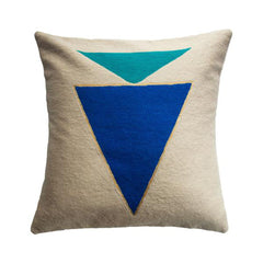 Midnight Jewel Turquoise Pillow by Leah Singh - Pillow - Leah Singh - Salut Home