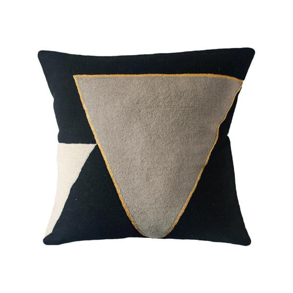 Midnight Point Pillow by Leah Singh